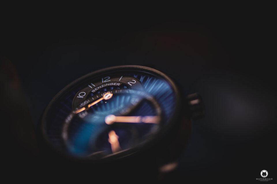 Benzinger Regulateur BlueBlack DLC
