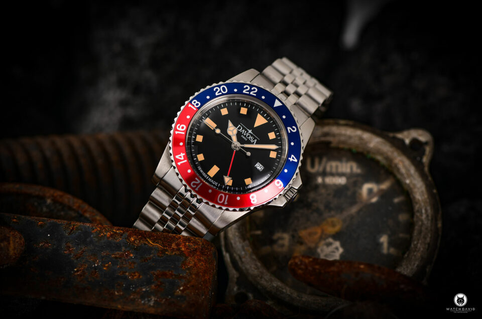 Davosa Vintage Diver Pepsi GMT